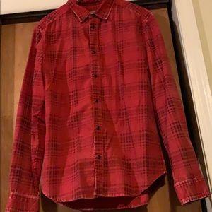 H&M men's plaid shirt